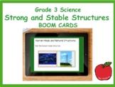 Grade 3 Science Strong and Stable Structures Review BOOM CARDS