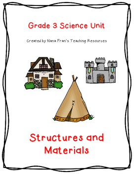 Grade 3 Science: Structures and Materials: Lesson Plans, Activities, QR Codes