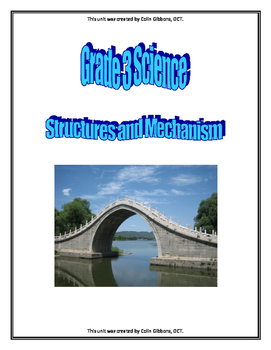 Grade 3 Science Unit - Structures