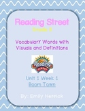 Grade 3 Scott Foresman Reading Street Vocabulary with Visuals, Unit 1 Week 1