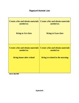Grade 3 Social Skills Unit: Classroom Survival Skills