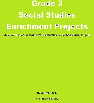 Grade 3 Social Studies Enrichment Projects