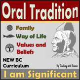 Oral Tradition: Story Telling: Indigenous Learning: NEW BC