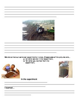 Grade 3 Soils Quiz