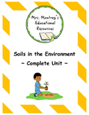 Soils in the Environment - Complete Unit