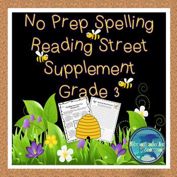Grade 3 Spelling Reading Street Supplement