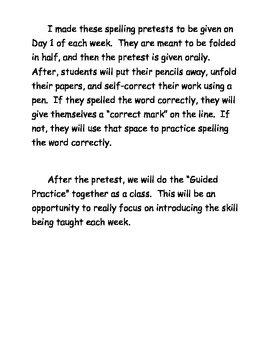 Grade 3 Spelling for Reading Street: Common Core Edition- Unit 5