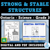 Grade 3 - Strong and Stable Structures - Ontario Science - Distance Learning