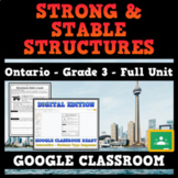 Grade 3 - Strong and Stable Structures - Ontario Science - GOOGLE CLASSROOM