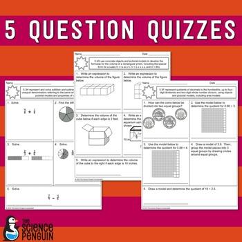 3rd Grade Math TEKS Based Assessments