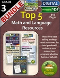 Top Five Products Grade 3