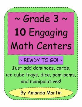 Grade 3 Ten Engaging Math Centers