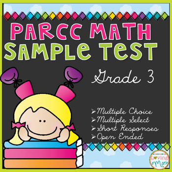 Grade 3 Math Common Core Test Prep - PARCC and Smarter Balanced