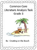 Grade 3 Test Prep Literature Analysis  Set 1 and 2 Bundle