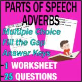 Grade 3 ELA Test Prep   Parts of Speech   Adverbs   Gramma