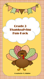 Grade 3 Thanksgiving Fun-Pack