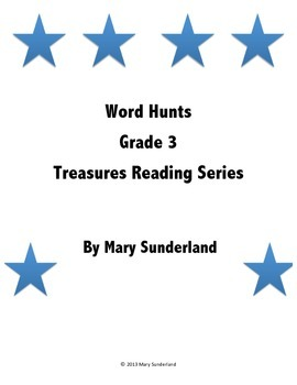 Grade 3 Treasures Word Hunts