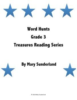 Grade 3 Treasures Word Hunts