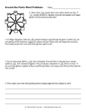 Grade 3 Two-Step Theme Park Word Problems