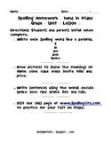 Grade 3 Unit 1 Lesson 2 Spelling Activities