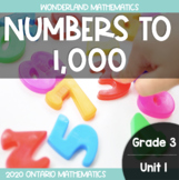 Grade 3, Unit 1: Numbers to 1,000 (Wonderland Math)