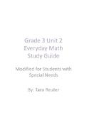 Grade 3 Unit 2 Everyday Math Study Guide