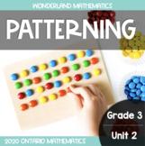 Grade 3, Unit 2: Patterning (Wonderland Math)
