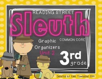 Grade 3 Unit 2 Reading Street SLEUTH Graphic Organizers