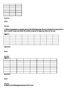 Grade 3 Unit 5 Investigations End of Unit Assessment