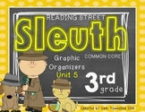 Grade 3 Unit 5 Reading Street SLEUTH Graphic Organizers