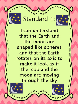 Grade 3 Utah Science I Can Statements Posters