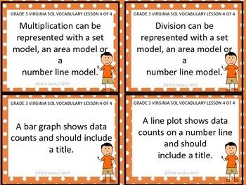 Grade 3 VIRGINIA SOL Math Review 4 of 4 PROPERTIES, MODELS, & GRAPHS