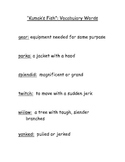 Grade 3 Vocabulary Words for Reading Street: Common Core Edition-Units 1-6