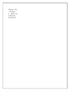 Grade 3 Wonders Unit 2 Week 5 Vocabulary Quiz