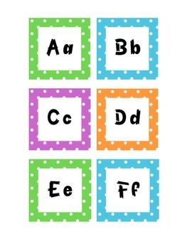 Grade 3 Polka Dots WORD WALL / MUR DE MOTS - FRENCH