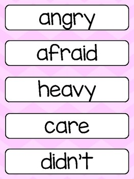 FREE Grade 3 Word Wall Words Printable