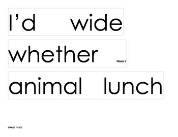 Grade 3 Word Wall Words - Printable and Simple