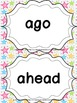 Grade 3 Word Wall Words With Headers- Star Theme