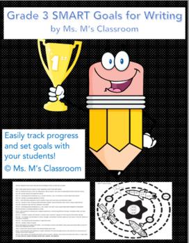 Grade 3 Writing SMART Goals Sheets