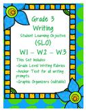 Grade 3 Writing SLO