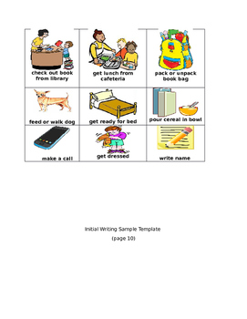 Grade 3 Writing: Temporal Words and Phrases