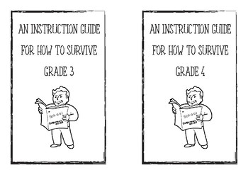 Grade 3 and 4 End of Year Survival Guide Activity