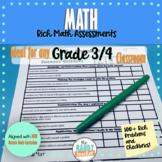 Rich Math Problems | GRADE 3 & 4 | New Ontario Math Curric