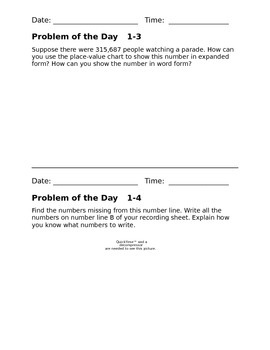 Grade 3 enVision Math: Interactive Learning/Pose a Problem