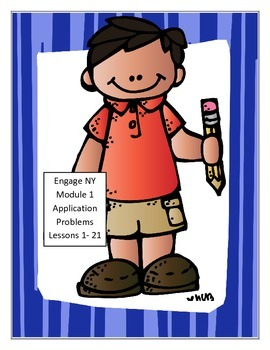 Module 1, Math,Third Grade - Application Problems-Lessons 1-21 - Engage NY