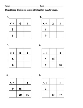 Multiplication Worksheets » Mental Math Multiplication Worksheets ...