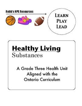 Grade 3 substance use unit Ontario