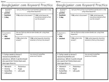 Grade 3,4,5 Research Unit Plans (2 Week Unit)