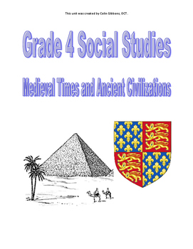Grade 4  Social Studies Unit (Research Project) - Medieval and Ancient Civ