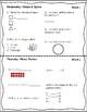 Grade 4/5 Spiral Daily Math Freebie